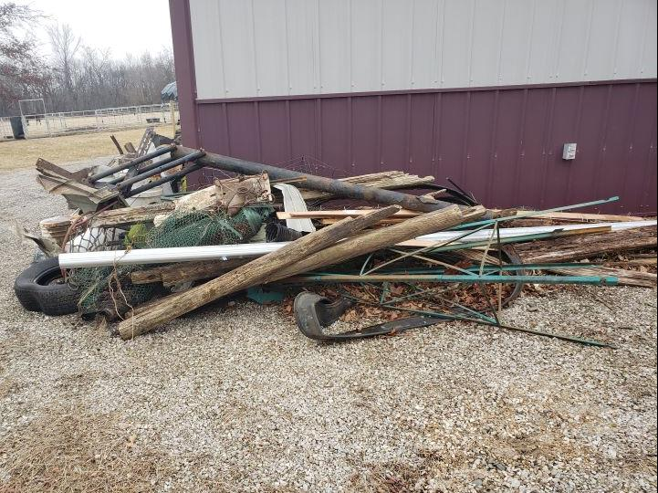 Junk Removal in Pleasant Hill, Mo - Before Photo