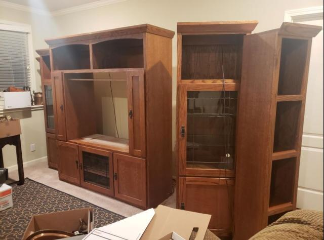 TV Stand Removal in Overland Park, KS