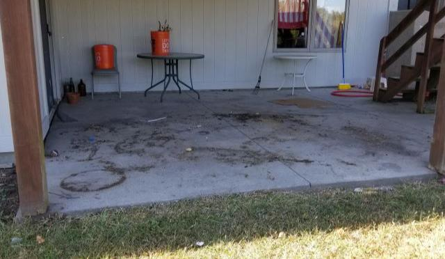 Patio Furniture Removal in Topeka, KS - After Photo