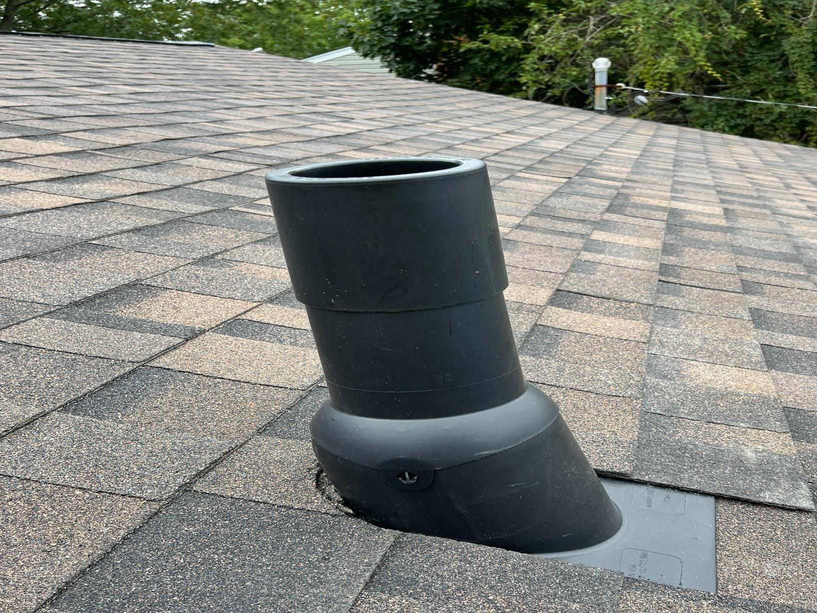 New Perma-Boot for Vent Pipe Installed in Kings Park, NY - After Photo