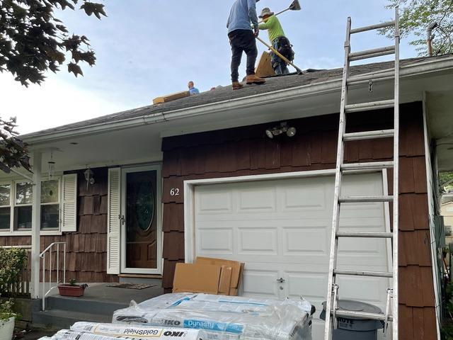 Roof Replacement in Ronkonkoma, NY - Before Photo