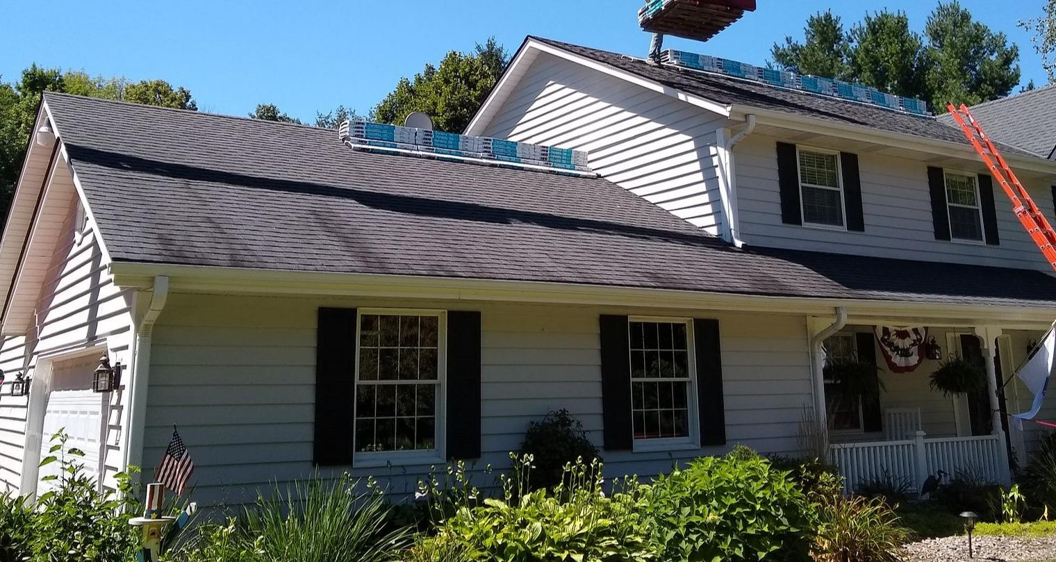 Roof Replacment - Oconomowoc, WI - Before Photo