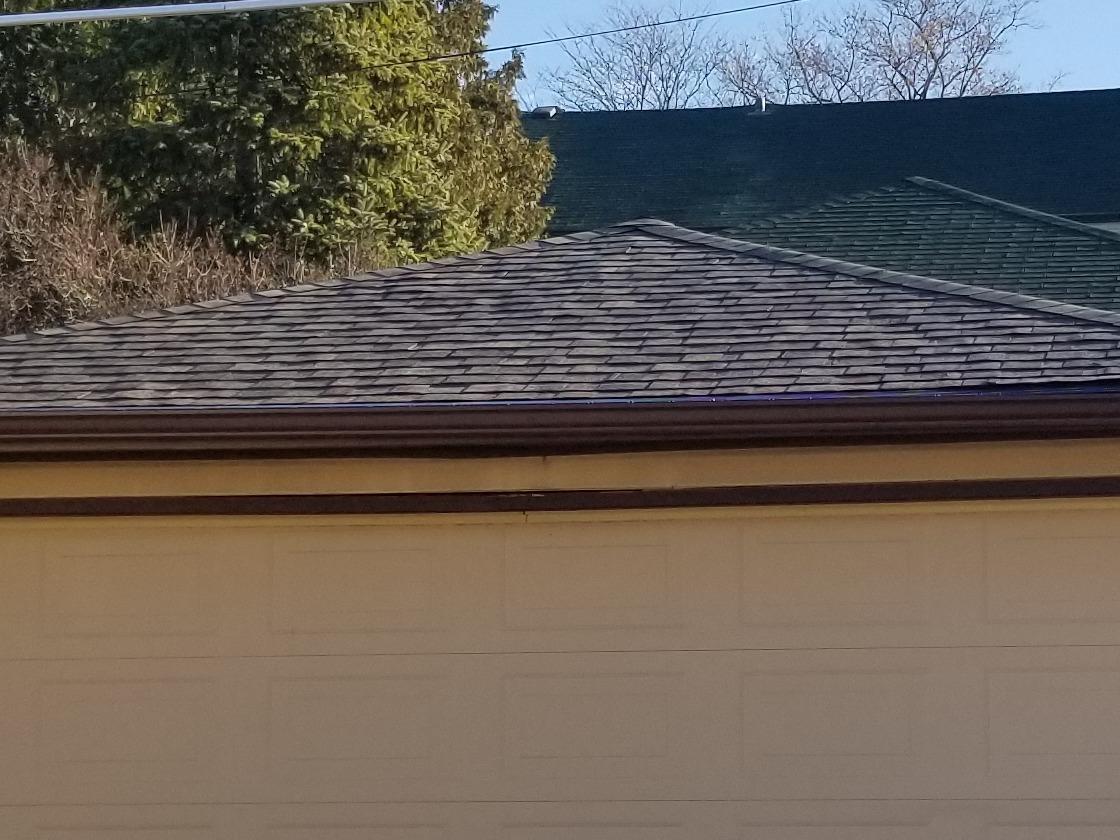 Garage Roof Repair - Wauwatosa - After Photo