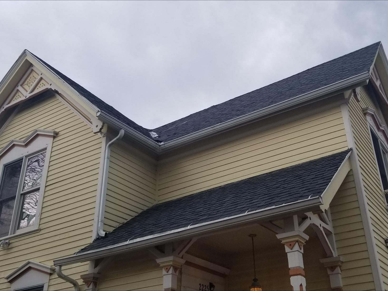 Roof Replacement - Milwaukee, WI - Before Photo