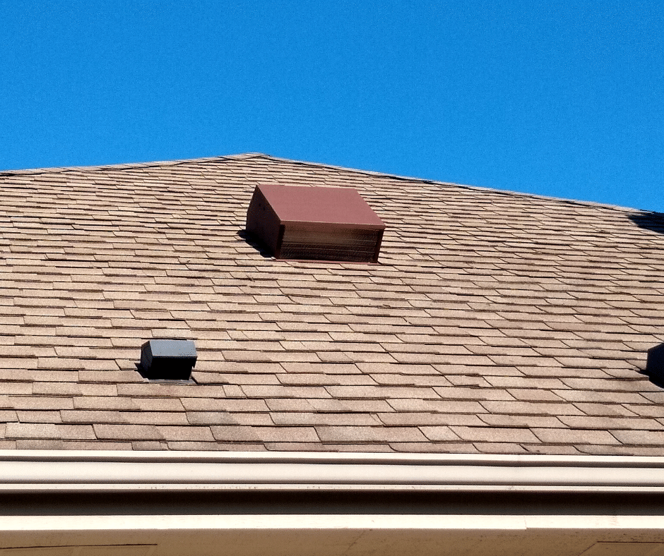 New Vents in Franklin - Before Photo