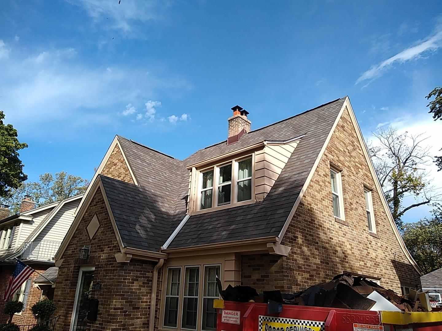 Roof Replacement- Whitefish Bay - After Photo