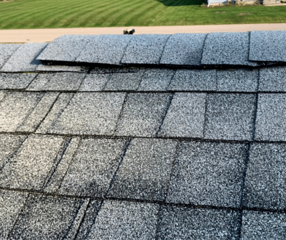 Roof Repair - Franklin, WI - Before Photo