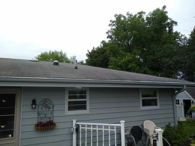 Muskego roof replacement Before & After