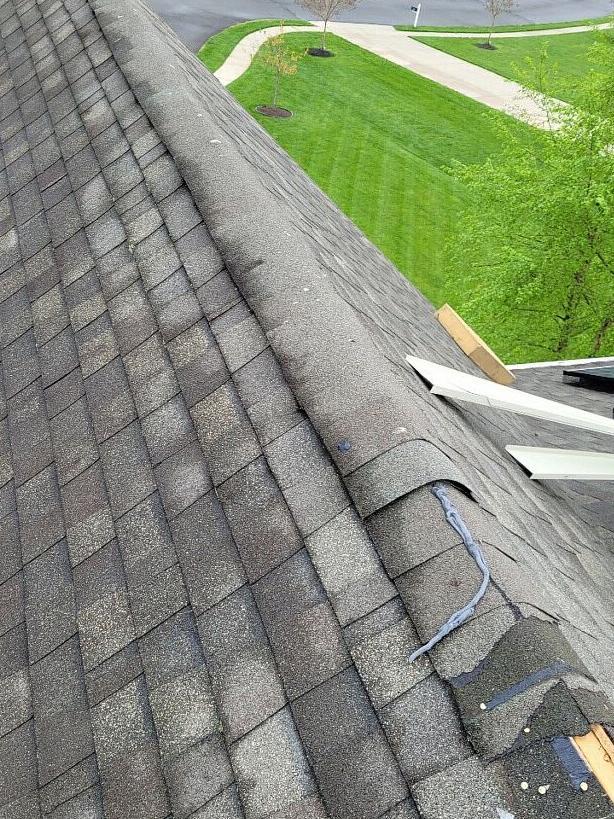 Roof Repair in Mickleton NJ 08056 - Before Photo