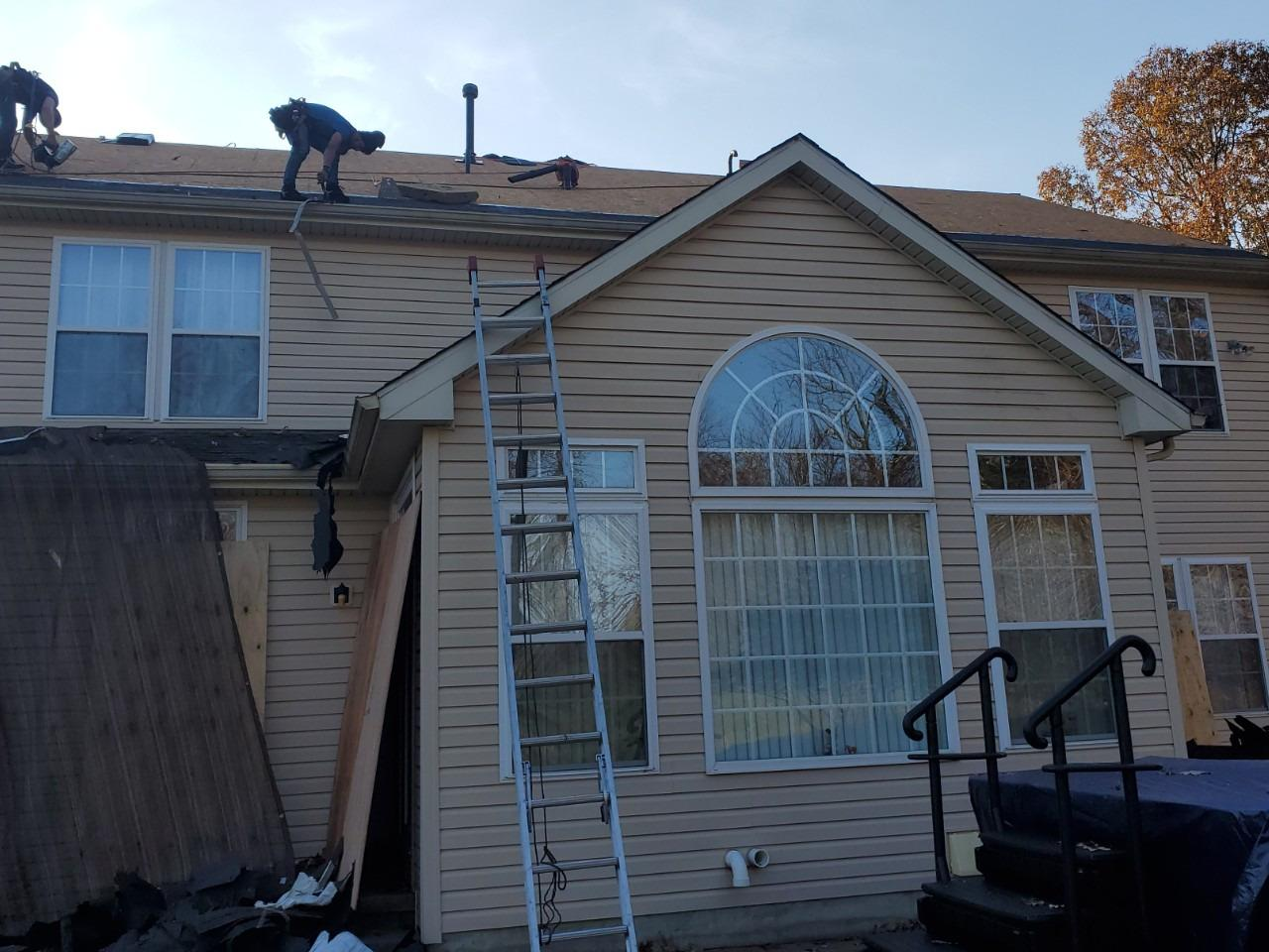 Redidential Roof Repair in Mullica Hill NJ - After Photo