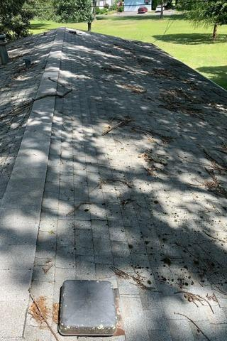 Roof Replacement In Elmer New Jersey - Before Photo
