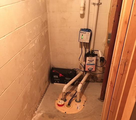 Clean Space Around the Sump Pit Install in Sac City, IA - Before Photo