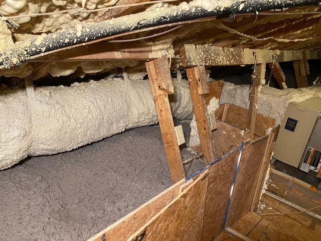 Blown Cellulose Insulation in Rincon, GA - After Photo