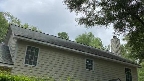 New roof in Ellabell, GA