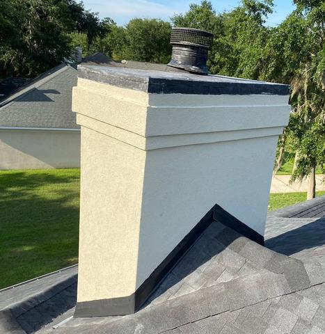 Chimney Repaired in Richmond Hill, GA
