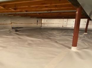 Highland, Michigan Crawl Space Encapsulation
