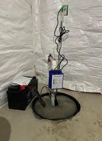 Davisburg, Michigan Sump Pump Replacement