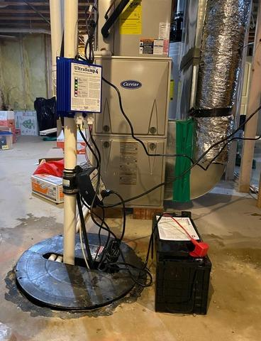 Sump Pump Replacement in Holly, Michigan