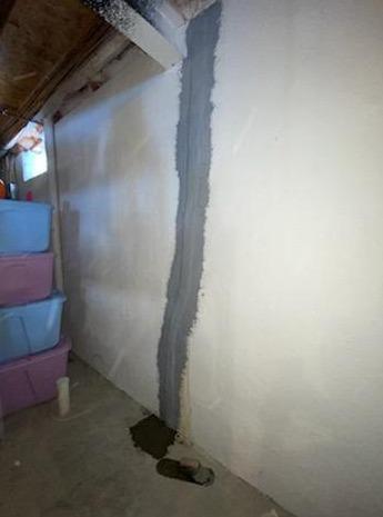 Attica, Michigan Basement Wall Crack Repair