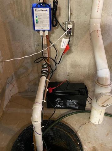 Metamora, Michigan Sump Pump Replacement
