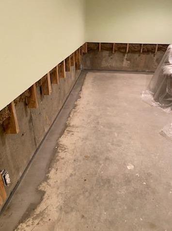 Dryden, Michigan Basement Waterproofing System