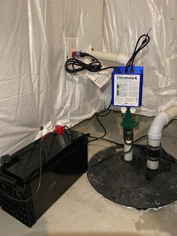 Corunna, Michigan UltraSump Installation