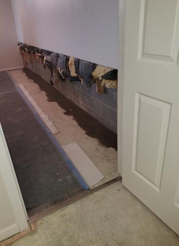 Almont, MI Interior Basement Waterproofing