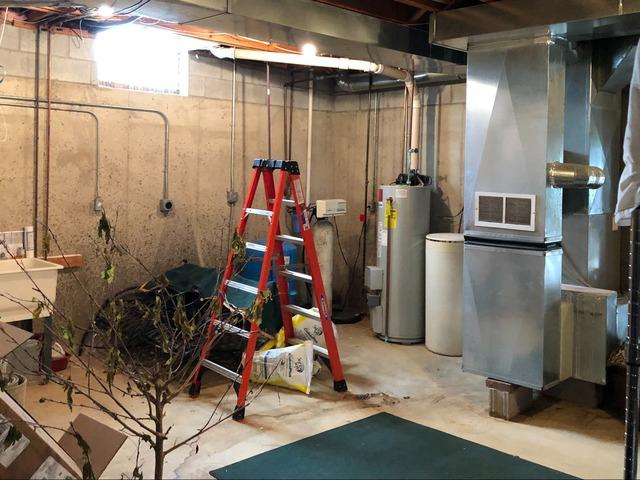 Perry, Michigan Basement Waterproofing System
