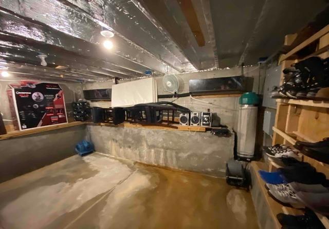 North Branch, Michigan Crawl Space Encapsulation