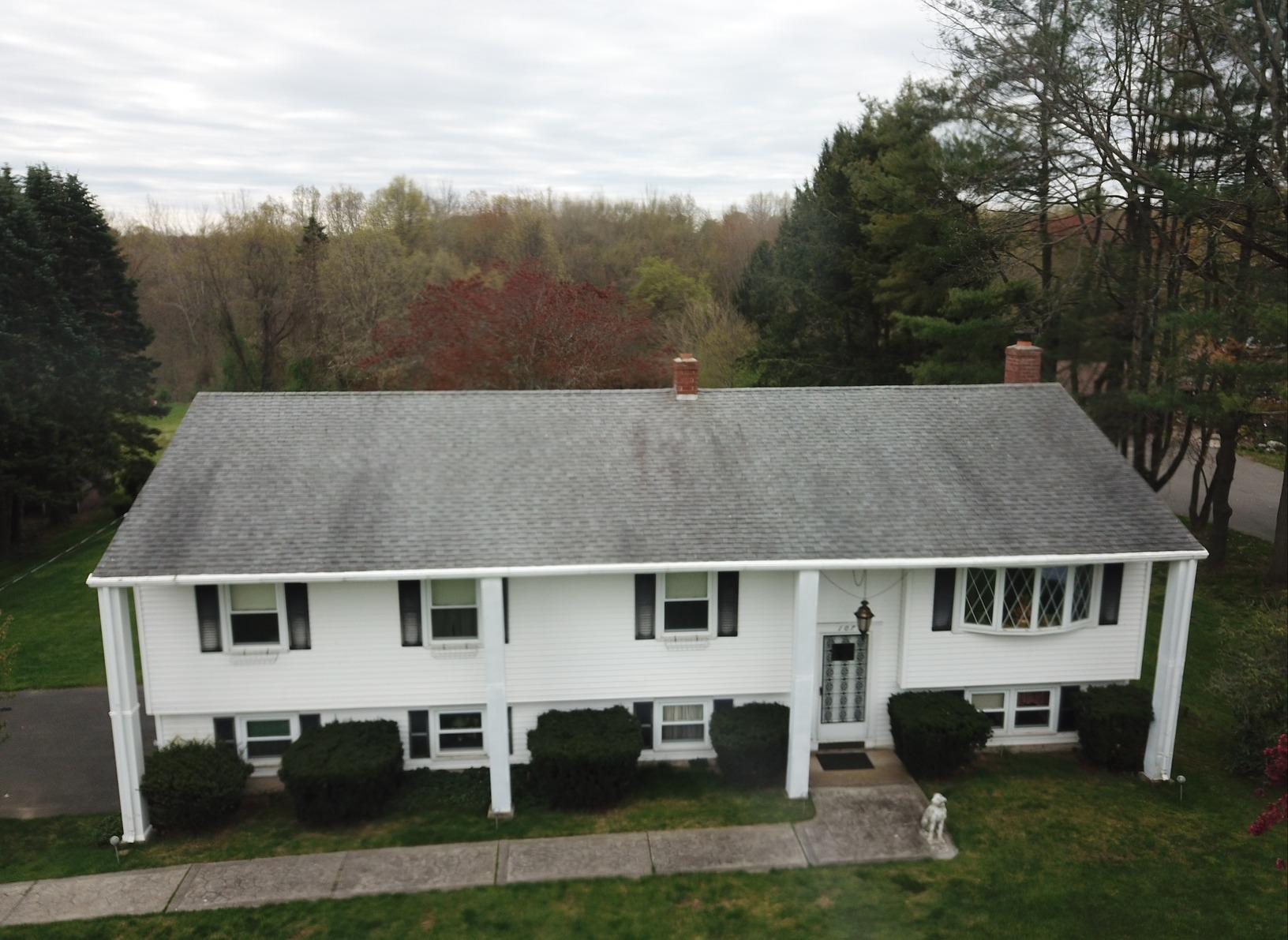 Roof Replacement in Windsor, CT - Before Photo
