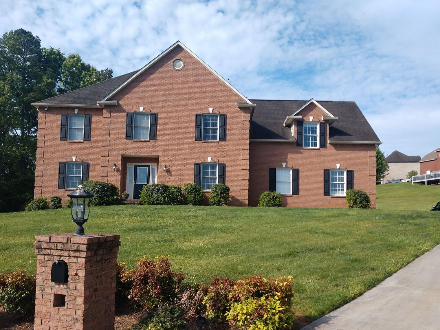 Replacing a Roof in Knoxville, TN - Before Photo