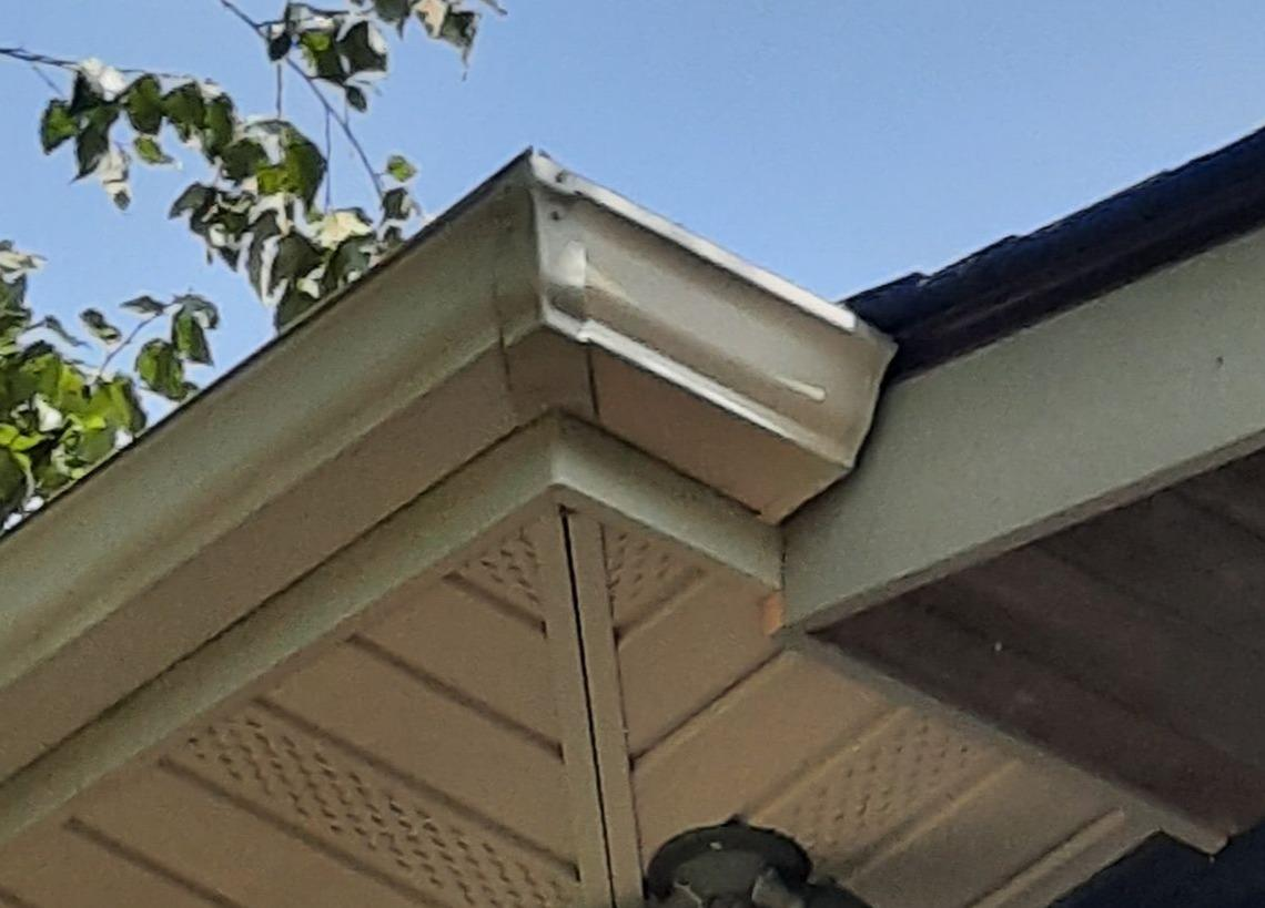 Installing Durable New Gutters in Jefferson City, TN - After Photo