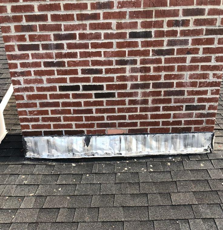 Replacing a Battered Roof in Talbott, TN - Before Photo