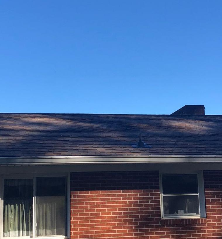Updating a New Market, TN Roof with IKO Shingles and More - Before Photo
