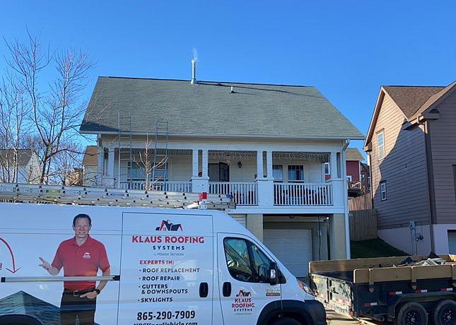 New Roof for a Home Near Corryton, TN - After Photo