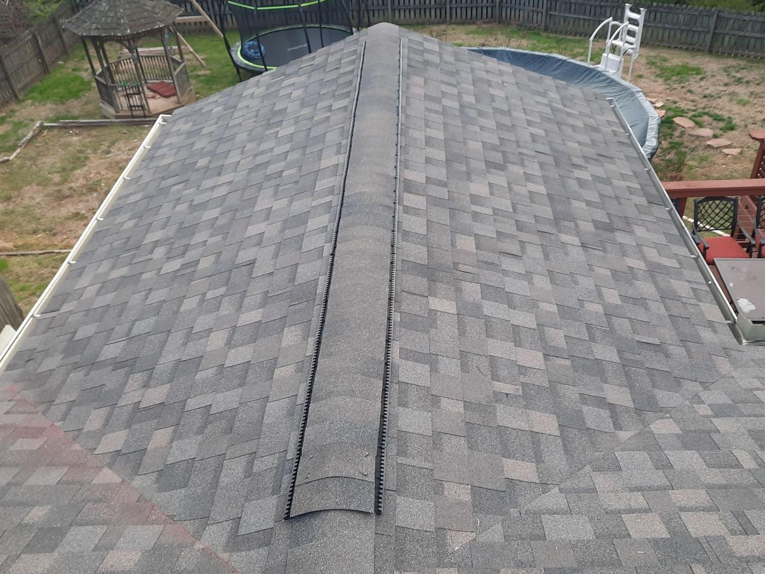 Roof Replacement Near Blaine, TN - After Photo