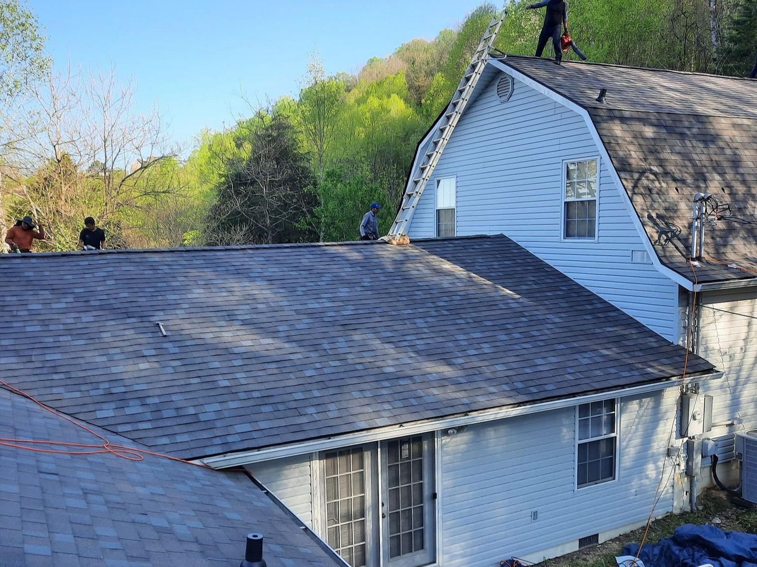 A Roof Replacement Near Duff, TN - After Photo