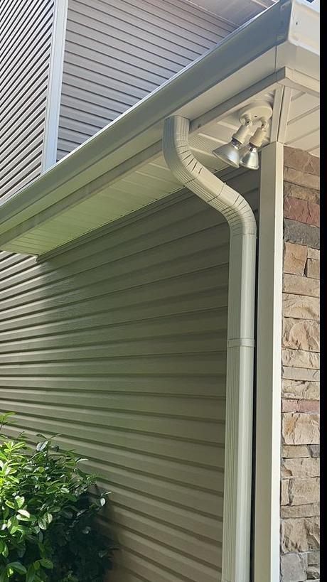 New Gutter Installation Near Dandridge, TN - After Photo