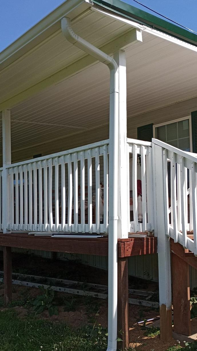 New Gutters for Home in Thorn Hill, TN - After Photo