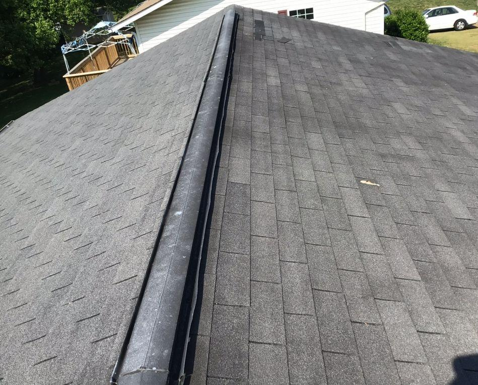 Total Roof Replacement Near Bean Station, TN - Before Photo