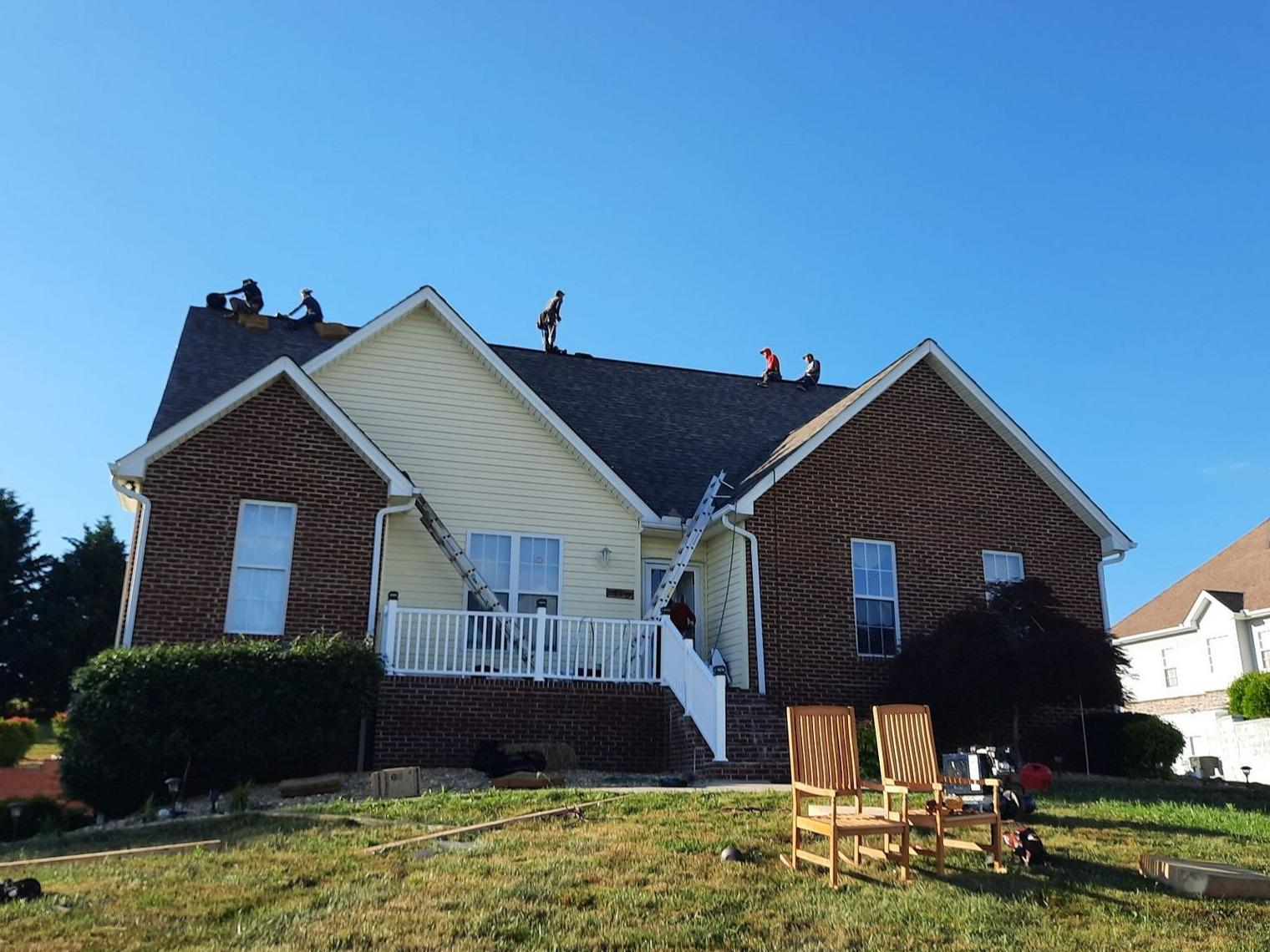 Roof Replacement Near Cumberland Gap, TN - After Photo
