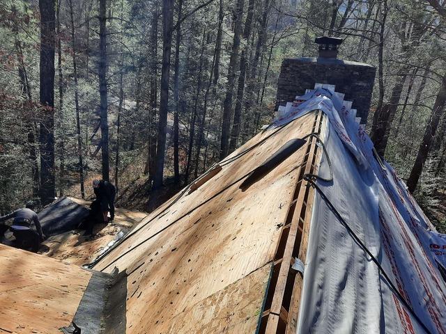 Installing a New Roof Near Walland, TN