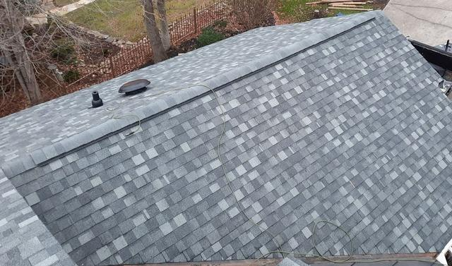 Before and After of Caryville, TN Roof