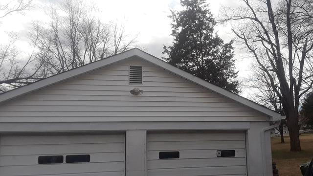 Before and After of Gutter Installation Near Rockford, TN