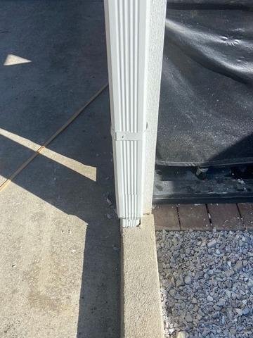 Replacing Warped Gutters Near Jellico, TN