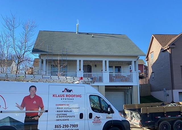 New Roof for a Home Near Corryton, TN
