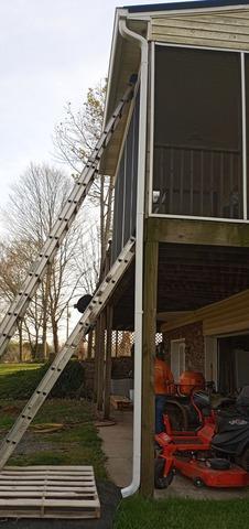 Installing Gutters Near Sharps Chapel, TN