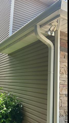 New Gutter Installation Near Dandridge, TN