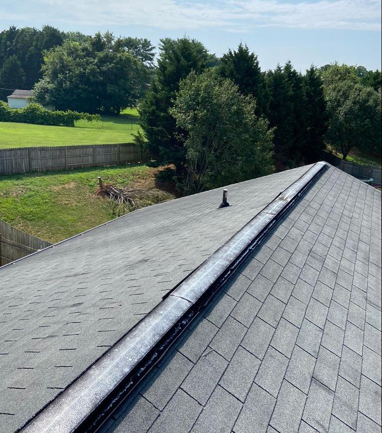 Replacing Leaky Roof in Kernersville, NC - Before Photo