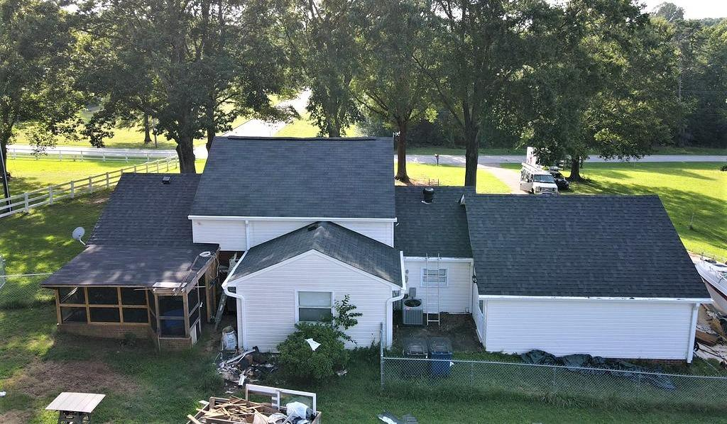 Old Damaged Shingle Roof Replacement in Winston-Salem, NC - After Photo